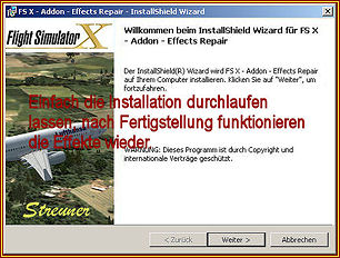 install shield reparieren